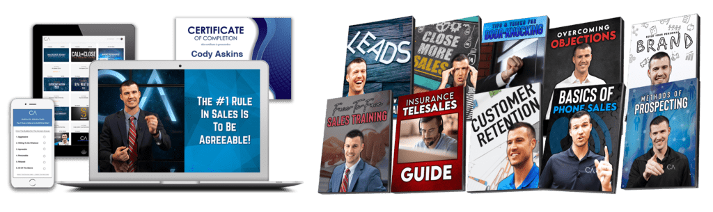 CA Sales System Landing Page Chapters