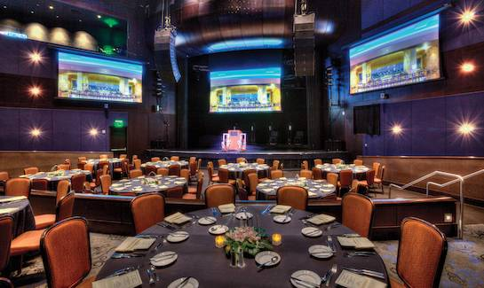 the show room at talking stick resort and casinso