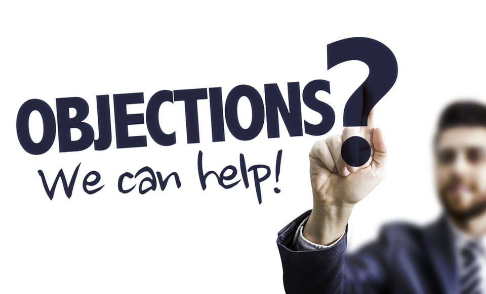 Why prospects give objections